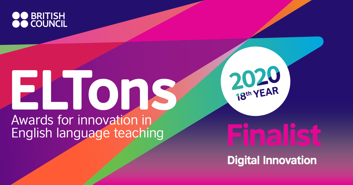 ELTons Awards Finalist for Digital Innovation