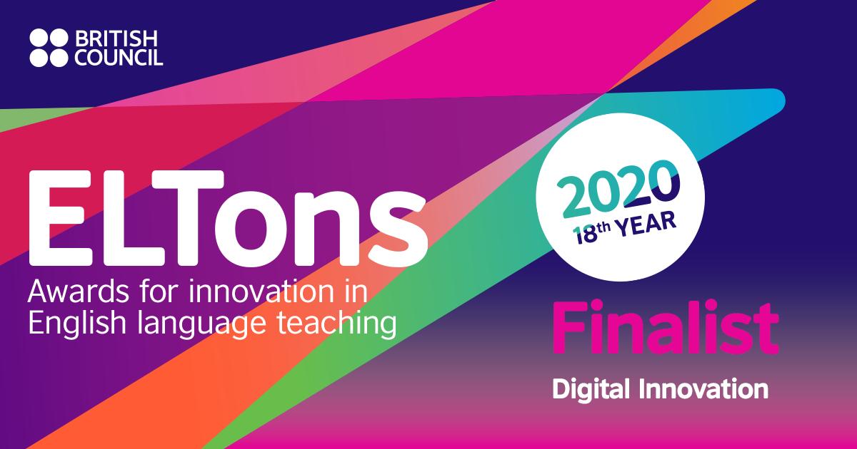 ELTons Awards Finalist for Digital Innovation