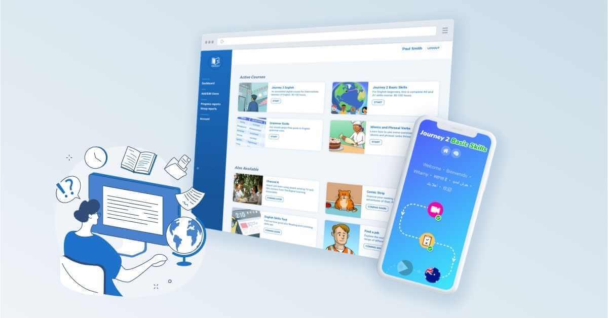 Klik2learn launches the Digital Learning Hub