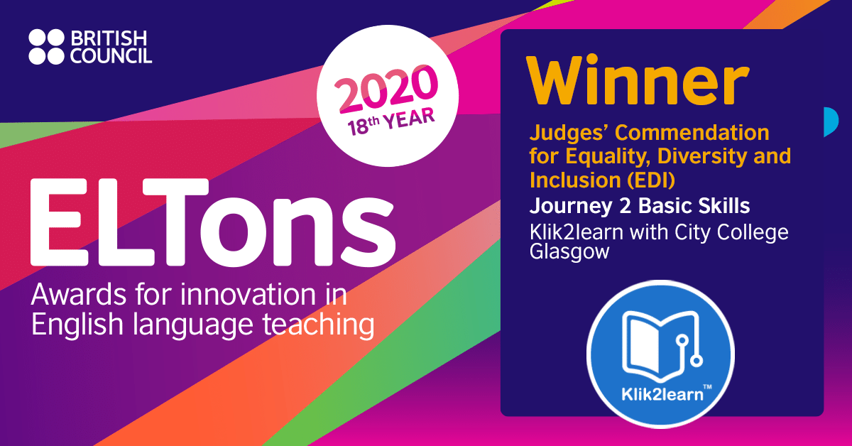 ELTons 2020 Award for Equality, Diversity & Inclusion