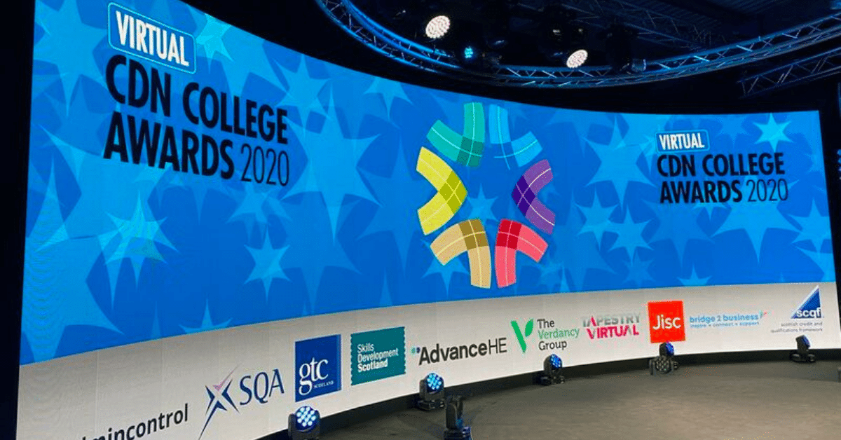 City of Glasgow College Wins CDN Award With Digital Learning Hub