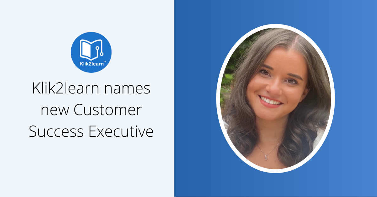 Klik2learn introduces new Customer Success Executive