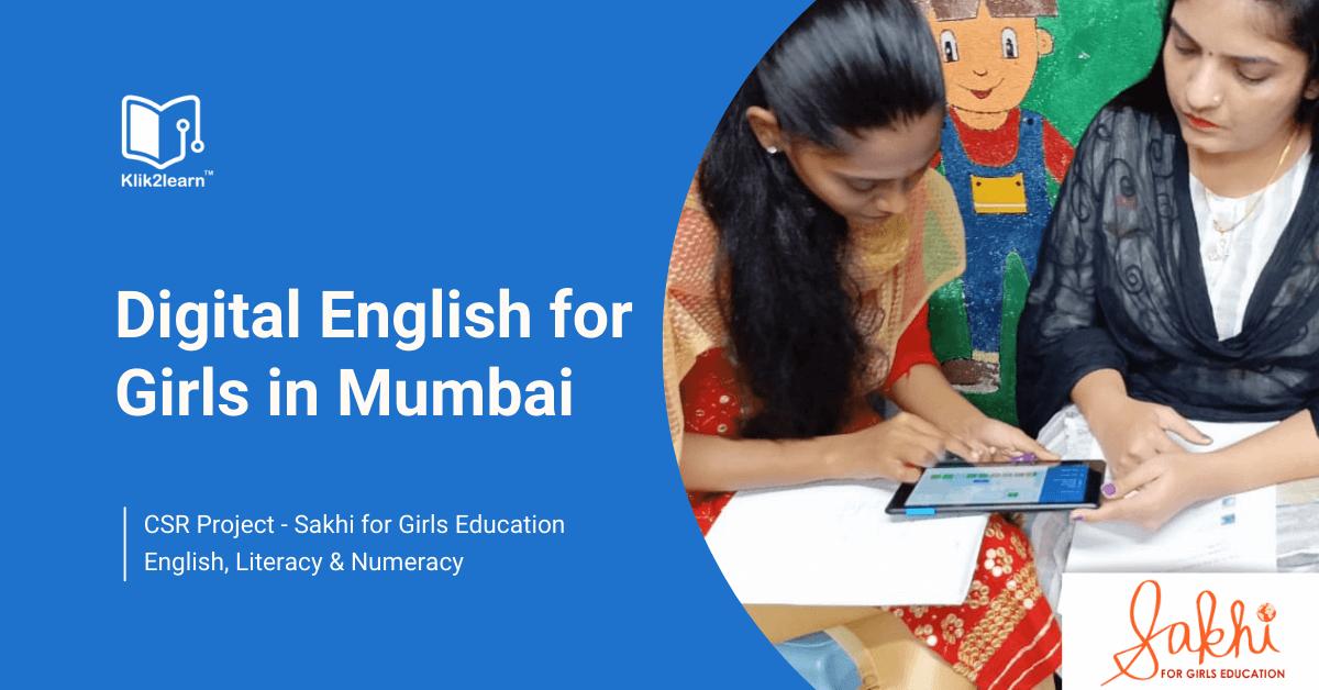 CSR Project: Sakhi for Girls Education