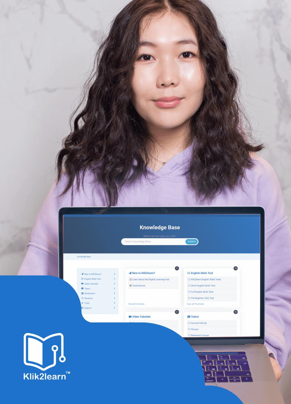 klik2learn support
